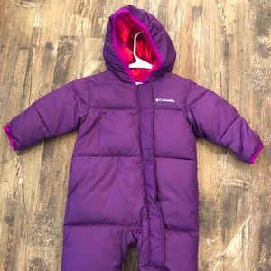 Columbia 12-18M Snuggly Bunny Snow Suit Bunting